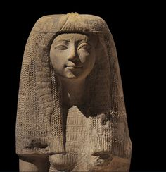 Hatshepsut, wife of Ptahmai, 1250-1200 B.C.found in Saqqara. Photo of oak_square.