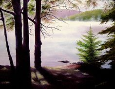 Fine Art by Brenda L. Joy Of Life, Mists, Oil On Canvas, Original Paintings, United States, In This Moment, Fine Art, Mountains, Plants