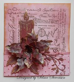 Selma's Stamping Corner: Christmas Candle