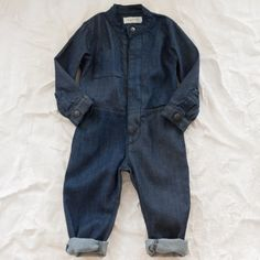 esp no. 1 denim flight suit - view all - girl | Thumbe Line
