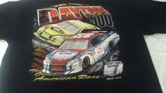 Nascar Chase Authentics XL 100% cotton Daytona 500 race t shirt. feb.20th,2011 #ChaseAuthentics #GraphicTee