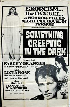 SOMETHING CREEPING IN THE DARK 1971