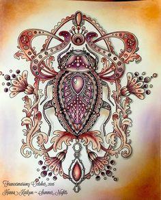 Image result for seasons coloring book hanna karlzon christmas