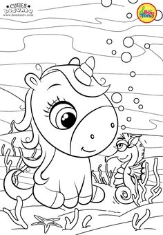 Cuties Coloring Pages for Kids - Free Preschool Printables - Slatkice Bojanke - Cute Animal Coloring Books by BonTon TV Spring Coloring Pages, Cute Coloring Pages, Disney Coloring Pages, Coloring Pages To Print, Printable Coloring Pages, Adult Coloring Pages, Unicorn Coloring Pages, Animal Coloring Pages, Coloring Books