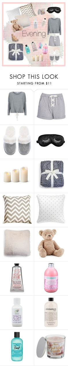"""""""Untitled #4"""" by volohovic-renia ❤ liked on Polyvore featuring Eberjey, Boohoo, Victoria's Secret, Improvements, UGG, Kate Spade, Jellycat, Forever 21, philosophy and Bumble and bumble"""