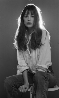 Portrait of Jane Birkin, 1973