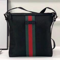 gucci handbags new Pink Gucci Purse, Gucci Purses, Gucci Messenger Bags, Canvas Messenger Bag, Gucci Handbags Sale, Luxury Handbags, Gucci 2018, Black Canvas, Purse Wallet