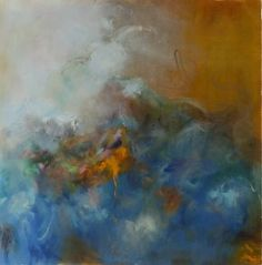 """Saatchi Art Artist Shevy Levy; Painting, """"The Storm Inside"""" #art"""