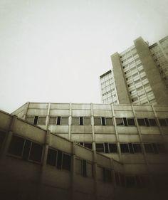 #helsinki #merihaka #concrete #buildings #brutalism #architecture #rain by…