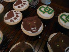 #Baylor University cookies on CakeCentral.com // #SicEm