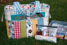 Pack N' Go Tote - from Fresh Fabric Treats - bitty bits & pieces