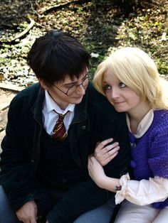 Harry Potter and Luna Lovegood Cosplay- BrainFuzzy by ...