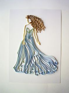 Look at this quilling! Can you believe it? Wow!!