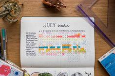 Bullet Journal - Habit Tracker