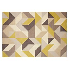 Buy John Lewis Holm Rug, Putty/ Citrine Online at johnlewis.com  £299.00 - £549.00