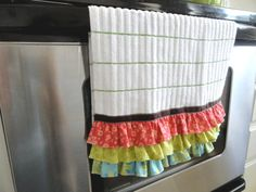 Ruffled Towel by byYuko on Etsy, $12.00