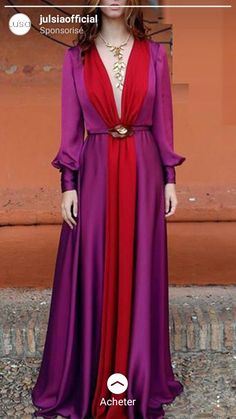 Long Sleeved Deep V Color Matching maxi dress maxi dress outfit maxi dress summer maxi dress casual floral maxi dress boho maxi dress Winter Dress Outfits, Casual Summer Dresses, Modest Dresses, Formal Dresses, Dress Casual, Summer Maxi, Dress Winter, Outfit Summer, Long Maxi Dresses