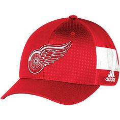Men's Detroit Red Wings adidas Red 2017 Draft Structured Flex Hat