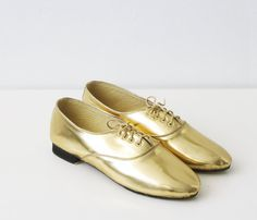 PONY OXFORD SHOES by Golden Ponies | Uncovet  // Better than ruby slippers?