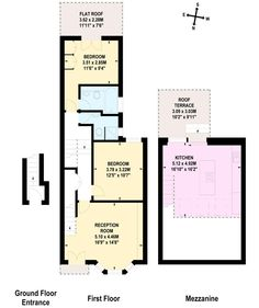 Danehurst St loft floor plan Prox. 800 SF w/o baths | Loft ...