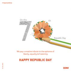 ndia has always championed the cause of freedom and given us a voice. Today, we salute the country that has always put its people first. Creative Poster Design, Ads Creative, Creative Posters, Creative Advertising, Advertising Design, Social Media Poster, Social Media Design, Diwali Poster, Republic Day Indian