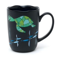 Enjoy a more chilled out hot drink with our Crush mug. The free-spirited turtle appears in sketch style artwork on the matte exterior, it has a…
