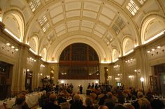 Baker Street Station in Fort Wayne, IN. Where Wes and I are having our reception :))))