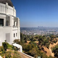 Griffith Observatory in Los Angeles, CA
