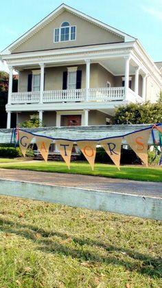 Florida Gator babshower-diy banner