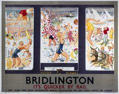 Bridlington . It's Quicker by Rail