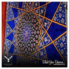 The #artist belongs to his work,  not the #work to the artist.  #Carpet #silkRug #Novalis #Carpet #Boustani #BoustaniCo