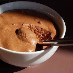 Vášeň pro vaření: Čokoládová pěna - Mousse au chocolat