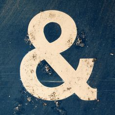 fridayinfrance: Ampersand by chrisinplymouth on Flickr.