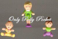 1994 Polly Pocket Strollin' Baby