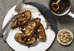 """Ironically called Caballeros Pobres (""""Poor Gentlemen""""), this Yucatán style French toast is the most luxurious I've ever eaten. Mexican Food Recipes, New Recipes, Favorite Recipes, Mexican Cooking, Mexican Dishes, Easy Recipes, Patis Mexican Table, Battered And Fried, Pastries"""