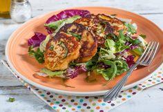Ricotta ropogós friss salátával