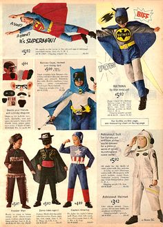 Had the Bat-Man helmet.  Loved it.  You would turn your head but the helmet would stay straight.