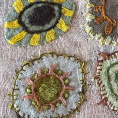 Sophie Digard ~ Embroidered Linen ~ @pommeshop