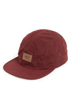 Obey  Storm  Waxed Canvas Five-Panel Adjustable Camp Hat  36c420efabcc