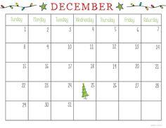 graphic about Dec Printable Calendar identify 32 Great December 2018 Calendar Printable photographs Blank