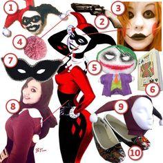 Harley Quinn · DIY The Look · Cut Out + Keep