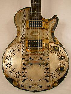 Boston Model L guitar - Tony Cochran Custom Electric Guitars