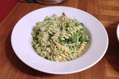 Broccoli and pine nut pasta