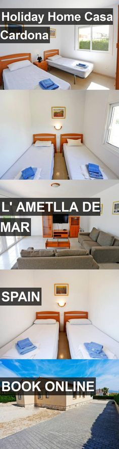 Hotel Holiday Home Casa Cardona in l' Ametlla de Mar, Spain. For more information, photos, reviews and best prices please follow the link. #Spain #l'AmetlladeMar #travel #vacation #hotel
