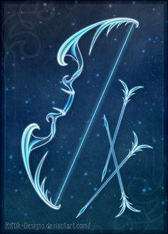 Winter's Bow - Auction! by Rittik-Designs on DeviantArt