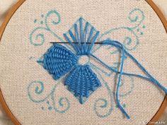 Красивая вышивка, сделанная переплетением нитей! » Женский Мир