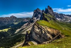 Photograph Sass Rigais, Seceda, Dolomites, Italy by Europe Trotter on 500px