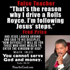 False teacher Fred Price
