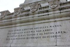 A passage from The 'Lusiadas' (Os Lusíadas). It's a Portuguese epic poem written by Luís Vaz de Camões.