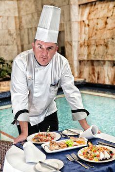 Our brilliand Chef / Nuestro magnífico jefe de cocina